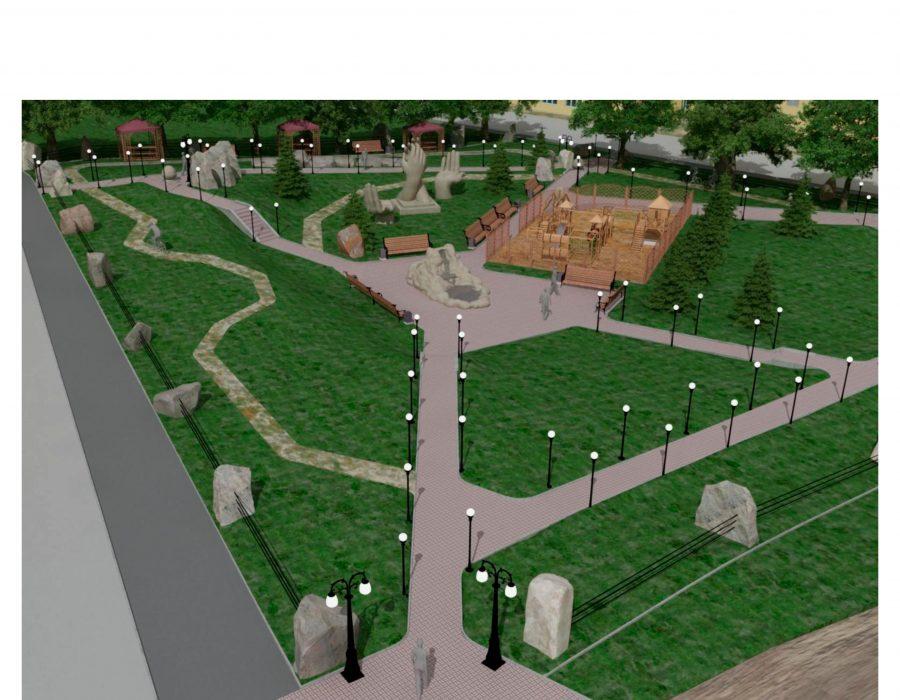 Планируемый Парк отдыха р.п. Магнитка